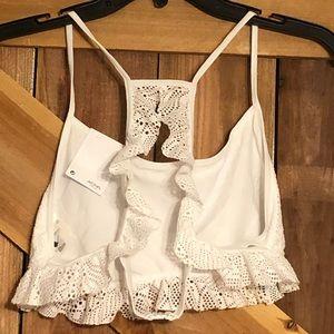 ASOS Swim - ASOS Ruffle Lace Bikini Set NWT